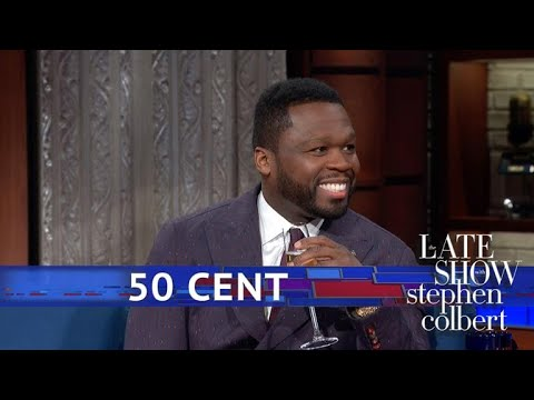 DJ Pup Dawg - 50 Cent on stephen colbert