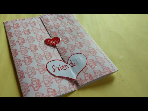 How To Prepare Greeting Card For Friend