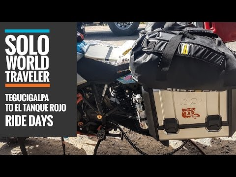 Ride Day 32: Tegucigalpa, Honduras to El Tanque Rojo, Nicaragua