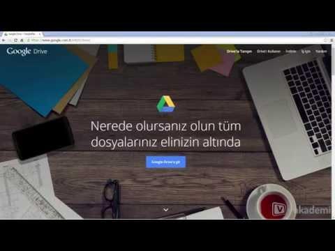 Google Drive Kullanım Rehberi - Google Drive Nedir, Ne Amaçla Kullanılır?