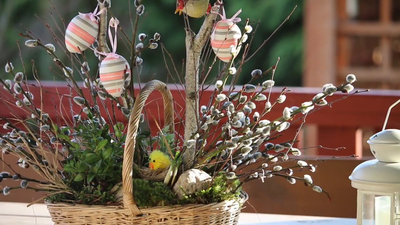 Wielkanoc Dekoracje Wiosenne Proste Tanie Stroiki Easter Decorations