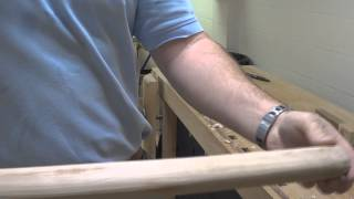 Making A Wood Handle For A Sledge Hammer
