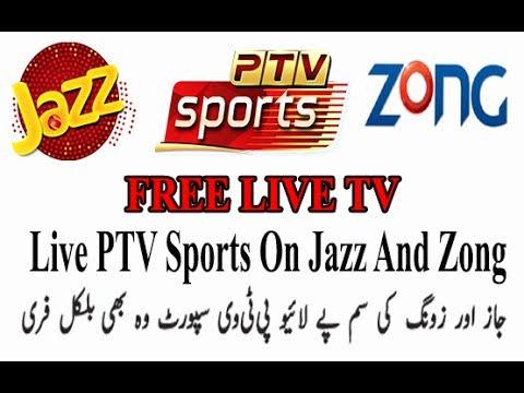 100% Free Live Ptv Sports On Jazz And Zong 0 Mb 0 Balance