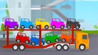 Doktor Mac Wheelie - Wieviele Autos sind auf dem Autotransporter?