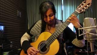 Soledad Lazarte (guitarra) /Mariana Mariñelarena (percusión) - Jongo - Paulo Bellinati