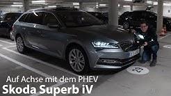 2020 Skoda Superb iV Test / erste Fahrt mit dem neuen Plug-in Hybrid - Autophorie