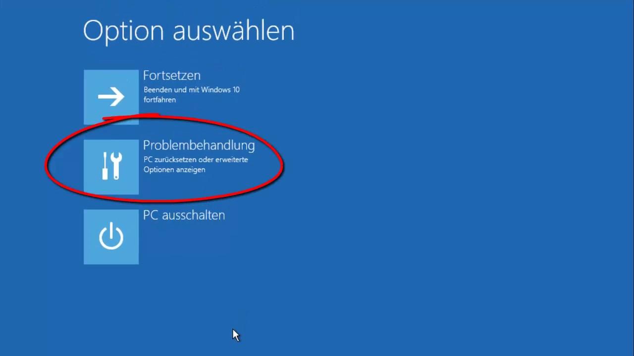 Windows 10 Pc Zurücksetzen