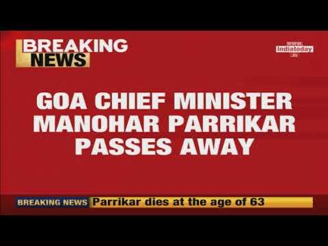 Manohar Parrikar No More; President Ramnath Kovind Mourns The Death Mp3