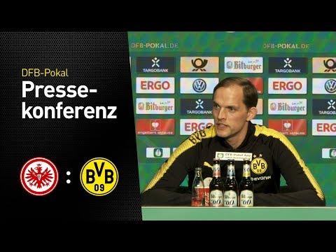 Die Pressekonferenz vor dem Pokalfinale | Eintracht Frankfurt – BVB