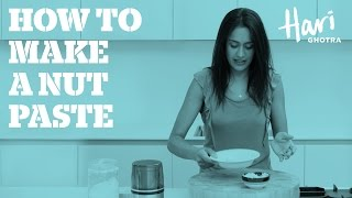 How to make a nut paste