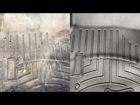 Restoring Weathertech floor mats