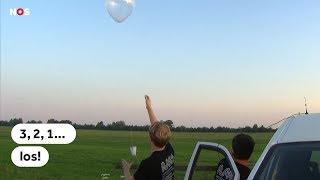 HITTE: Onderzoekers meten warmte stad met weerballon