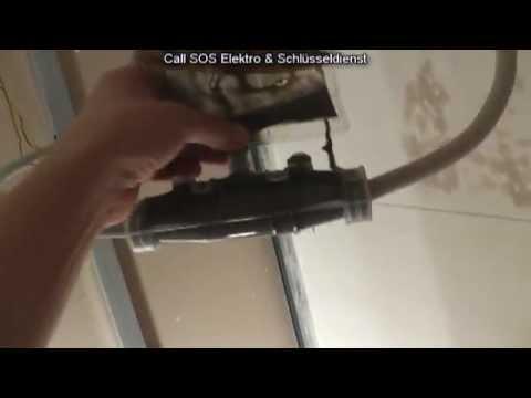 Elektroinstallation - Leitung 5x 6mm² Fachgerecht Verlängern