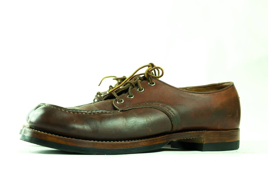 red wing moc toe derby resole 9 youtube