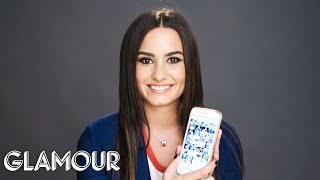 Demi Lovato Gets Her Phone Hacked | Glamour