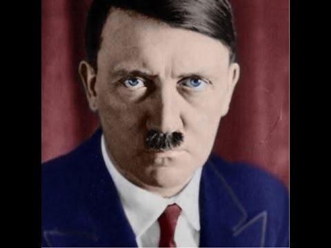 Adolf hitler eye color