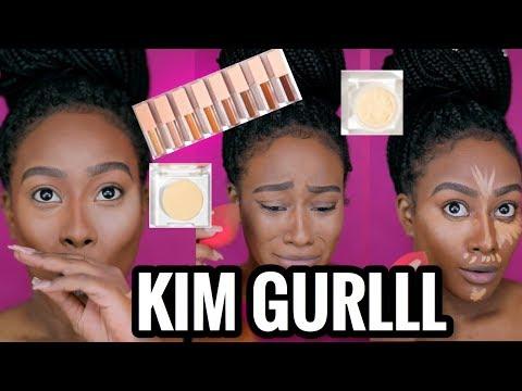 Kim Kardashian: KKW Beauty Concealer Kit Review Morenita Friendly or NAH???
