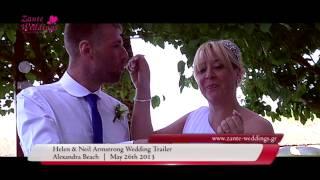 Helen & Neil, ALEXANDRA BEACH, Zante Weddings by Tsilivi Travel in Zakynthos