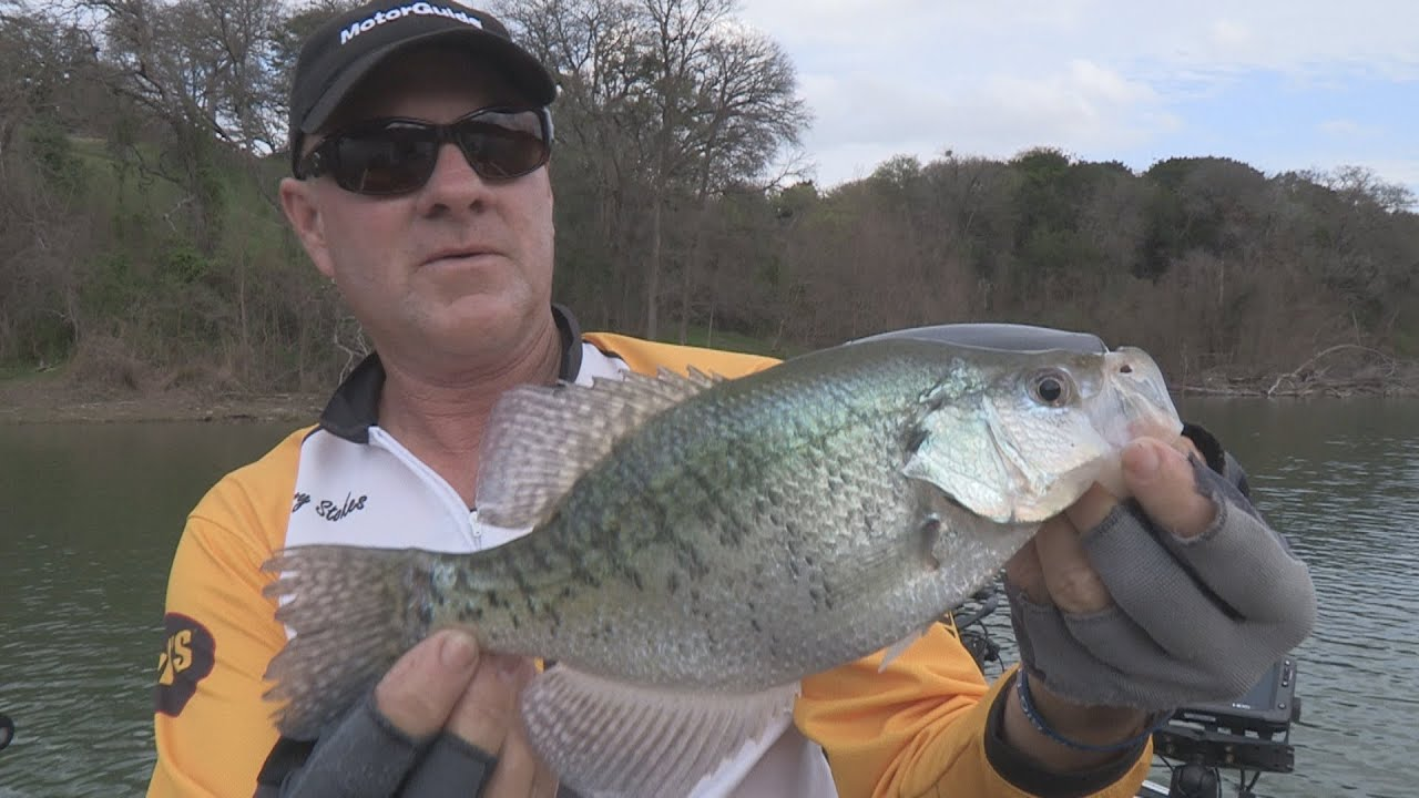 Fox sports outdoors southeast 6 2015 lake waco texas for Crappie fishing texas
