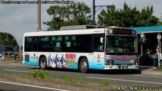 Keihin Kyuko Bus Isuzu Erga M1818 @ Keihinjima Kaijo Koen [June 16, 2013]