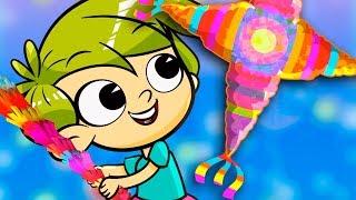 ROMPE LA PIÑATA canciones infantiles thumbnail