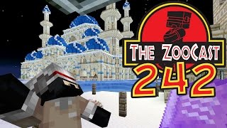 Minecraft Jurassic World (Jurassic Park) ZooCast - #242 There