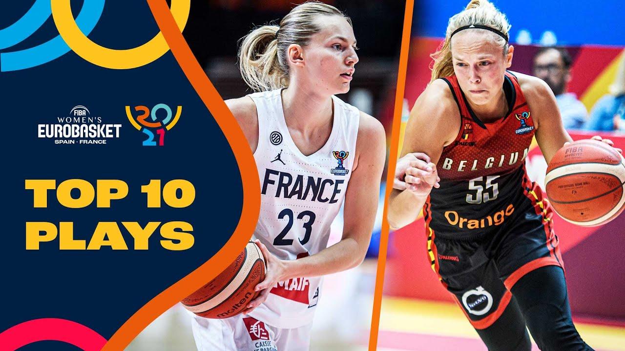 Nike Top 10 Plays 🏀  Marine Johannes, Ana Dabovic, & more   FIBA Women's EuroBasket 2021