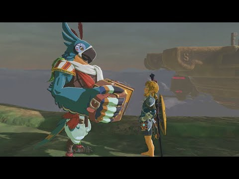 What Happens if you Talk to Kass for the First time on a Divine Beast? Zelda Breath of the Wild