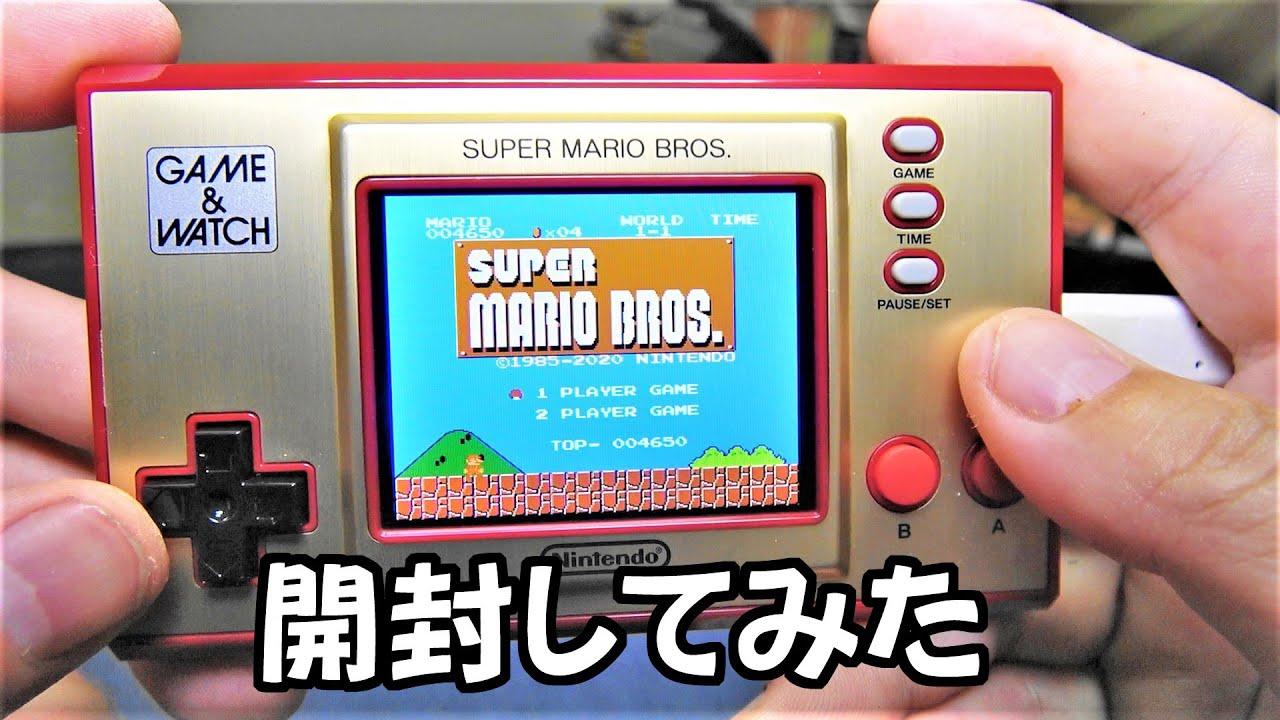 スーパー ブラザーズ & マリオ ウオッチ ゲーム