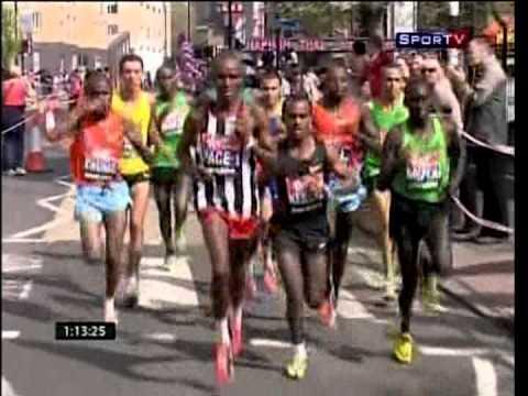 Maratona de Londres - masculina - 2011