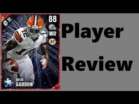Mystery Puzzle Josh Gordon | Player Review | Madden 17 Ultimate Team Gameplay