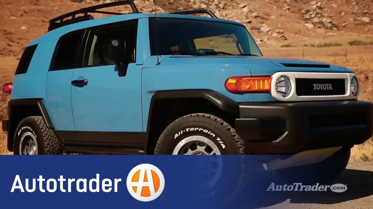 2014 Toyota FJ Cruiser | 5 Reasons to Buy | Autotrader - YouTube