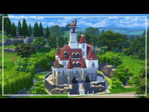 Sims 4 Speed Build || Beauty and the Beast Castle