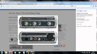 m audio fast track usb interface linking it with audacity plus resolving windows 7 driver problem