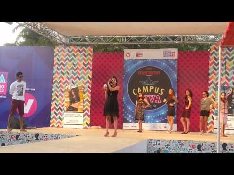 Sugatha Balagopal winner of Campus Diva at Channel V