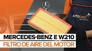 Mercedes W210 - lista de reproducción de videos sobre reparación de coches