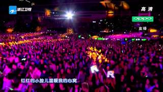 Little Apple – Zhejiang Satellite TV New Year party [2014-12-31 – 2015 HD 1080p]
