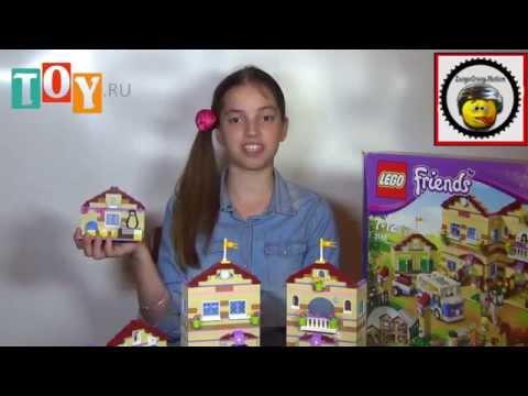 видео: lego friends, 3185, Школа верховой езды, обзор Лего набора
