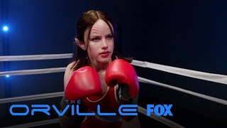 Alara And Bortus Face-Off In The Ring | Season 1 Ep. 3 | THE ORVILLE