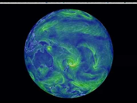 Wind Animation From Http://earth.nullschool.net/