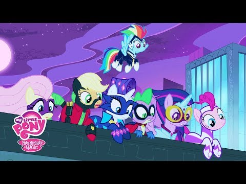 MLP: Friendship is Magic Season 4 - 'Introducing the Power Ponies!' Official Clip