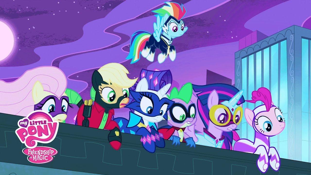 mlp friendship is magic season 4 introducing the power ponies