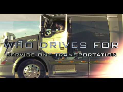 Truck Driving Jobs - Service One Truck Driving Careers