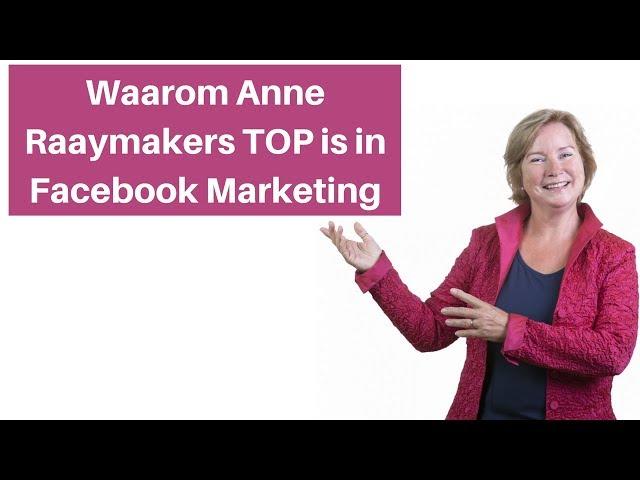 Een tool die Anne Raaymakers gebruikt voor haar Facebook Advertenties