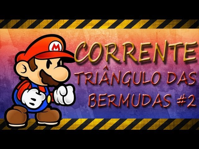 Vício do Inferno!! - Corrente Desafio do Mario Bros e o Triângulo das Bermudas - DK4mikaze TRAVEL_VIDEO