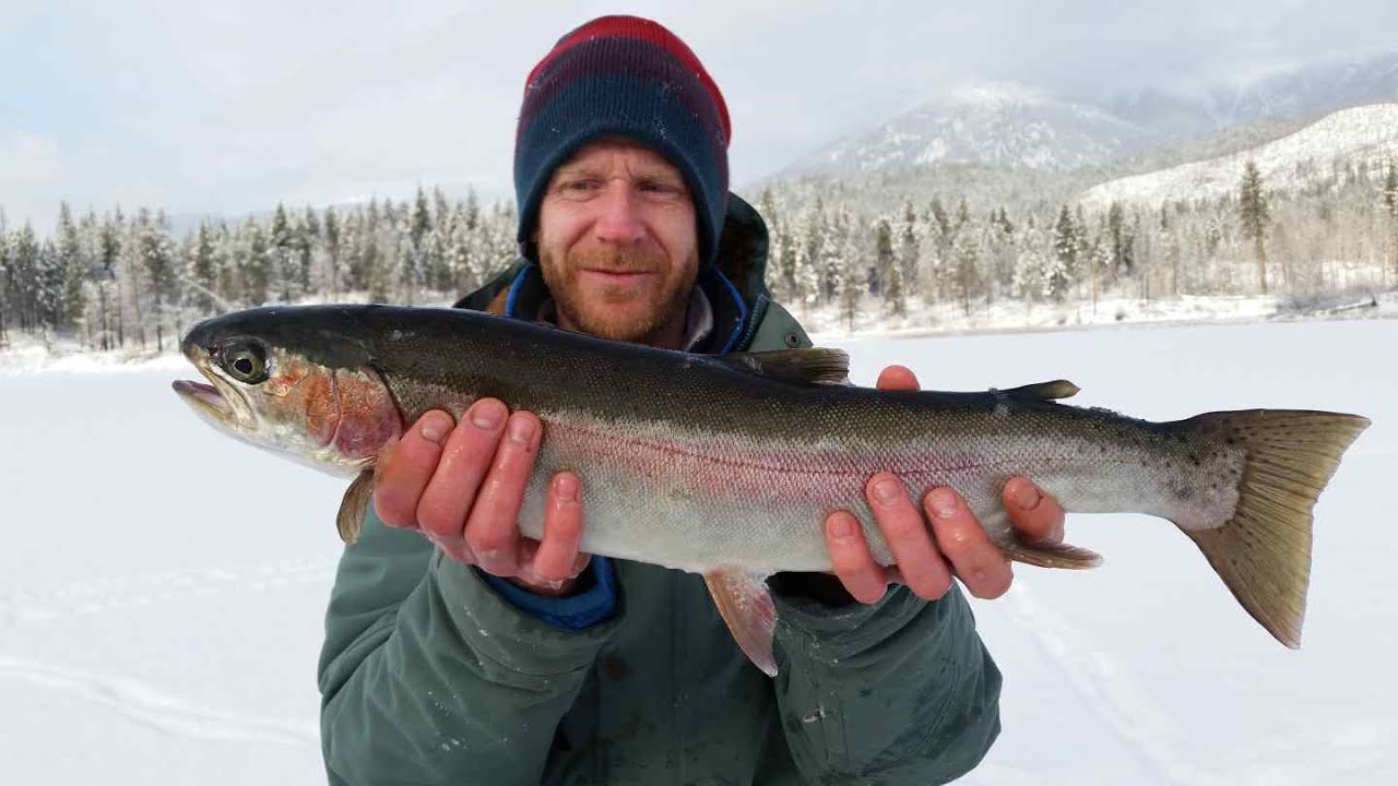 Ice fishing trips in canada with pemberton fish finder for Fish and trip