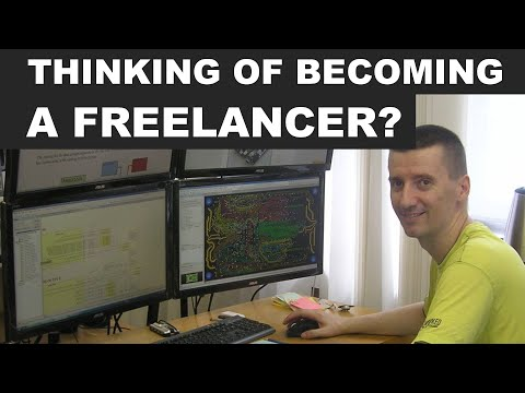 How to work as a freelancer? The key topics ...