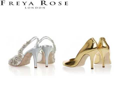 Sparkly Heels Silk Shoes - Freyarose.com