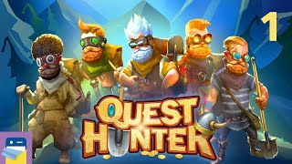 Quest Hunter: iOS / Android Gameplay Walkthrough Part 1 (by 2 Zombie Games)