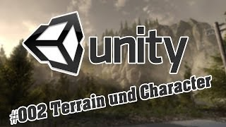 First Person Game Erstellen - Unity3d - Anfänger - #002 Terrain und Character
